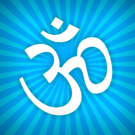 karma design: Om sign