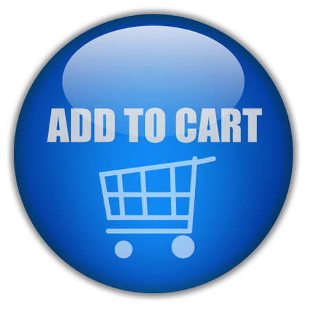 add icon: Add to cart button Stock Photo