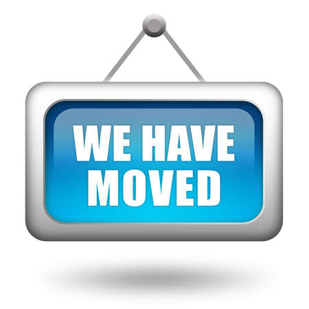 we: We have moved
