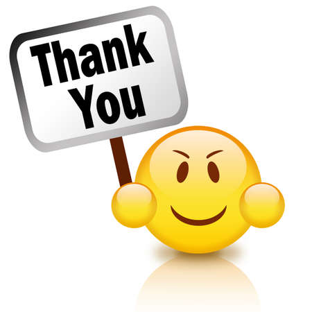 Thank you sign Stock Photo - 10856781