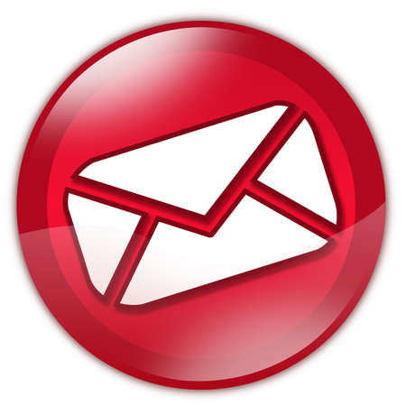 Red email button photo
