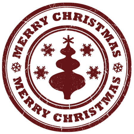 Merry christmas sign Stock Photo - 11841385