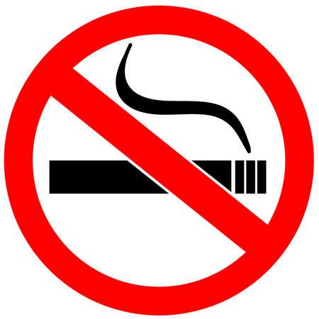 no fumar: No hay señales de fumar más de blanco