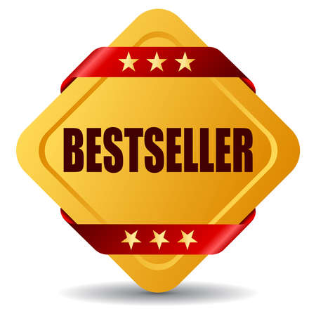bestseller: Vector bestseller sign illustration Illustration