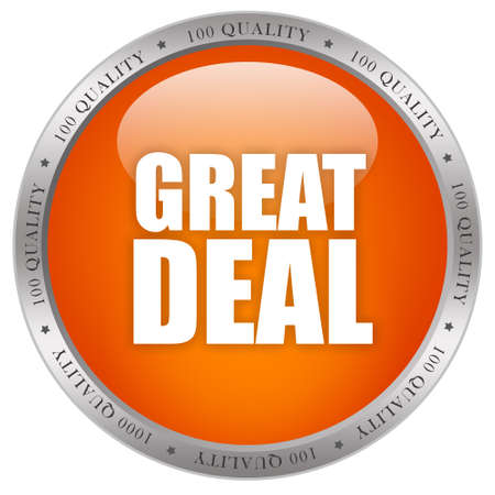 Great deal icon Stock Photo - 12414747