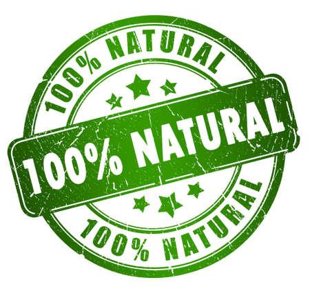 Natural stamp Stock Photo - 12414770