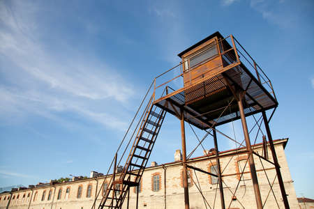 guard house: Old prison with watchtower