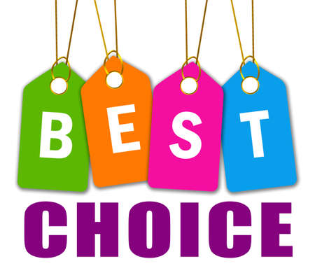 Best choice icon Stock Photo - 12414948