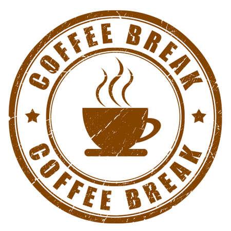Coffee break sign Reklamní fotografie