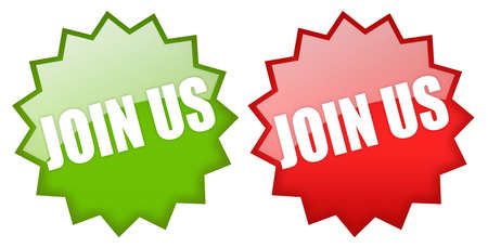 Join us icons Stock Photo - 12414950