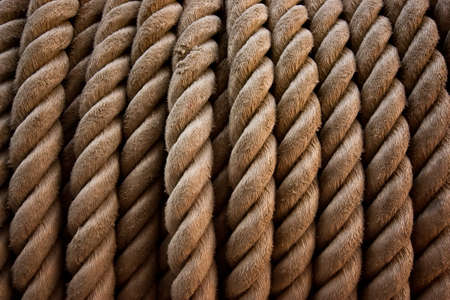 Marine rope Stock Photo - 12414967