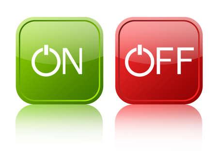 boton on off: El bot�n de apagado