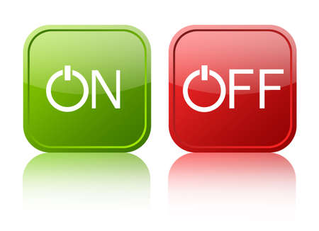 On off button Stock Photo - 12414931