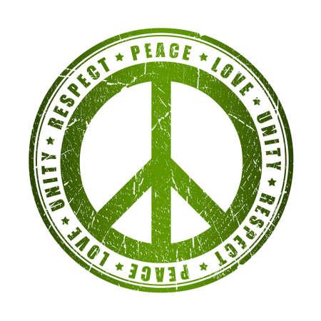 simbolo de la paz: Símbolo de la Paz Foto de archivo