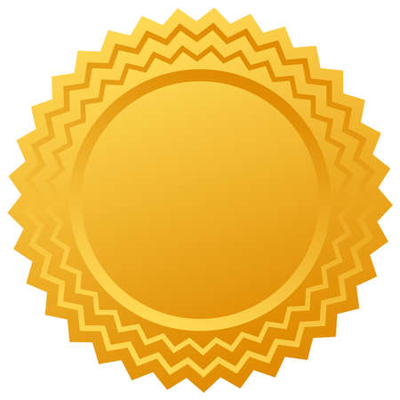 gold certificate Vector