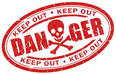 electroshock: Danger stamp