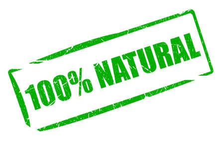 Natural stamp photo