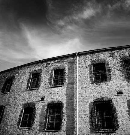 Old prison photo photo