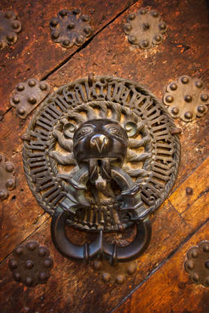 doorknocker: Ancient door knocker