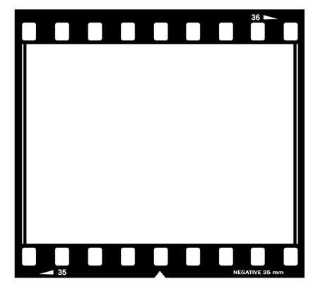 lembo: Film cornice illustrazione