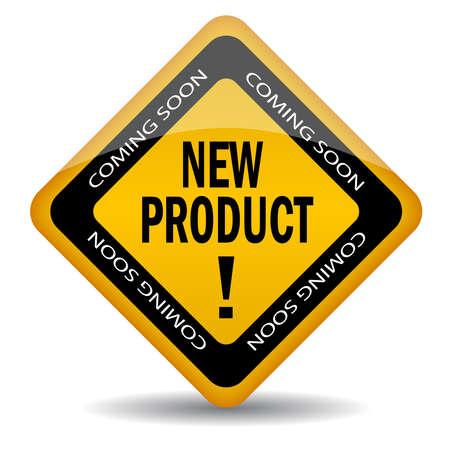 proximamente: producto nuevo muy pronto icono Vectores