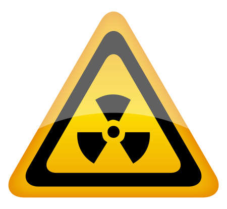 radiation sign illustration Vector
