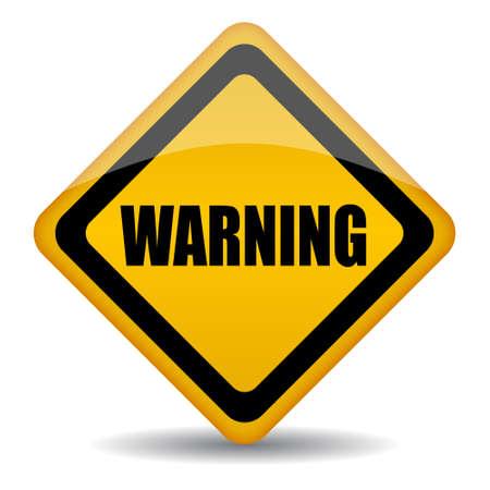 be careful: warning sign