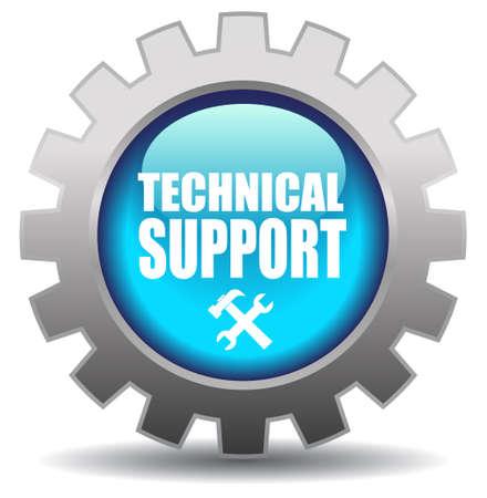 Apoyo vector icono Ilustración de vector