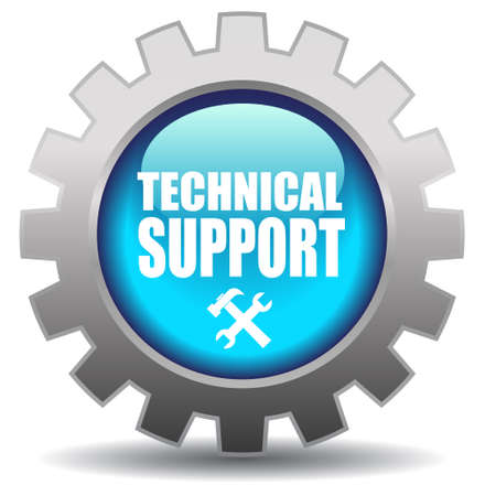computer repairing: Support vector icon