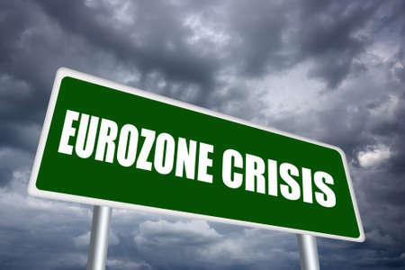 zone euro: Signe crise zone euro