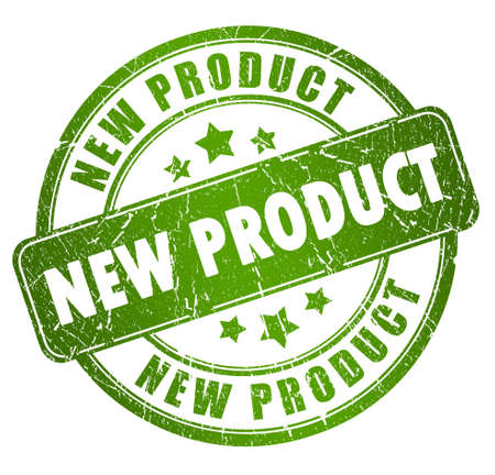 Nieuw product Stockfoto