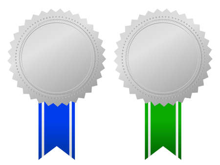 blank award emblems Vector