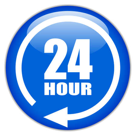 sign twenty four hour Vector