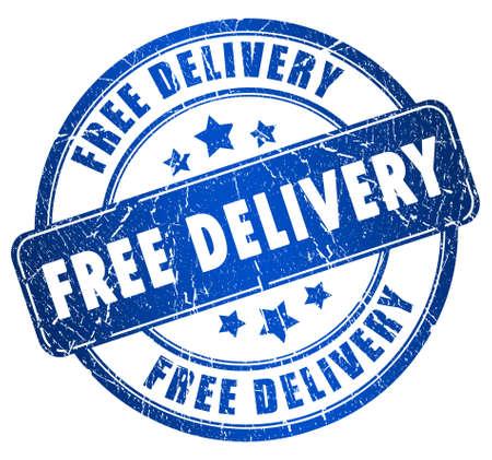 immagine gratuita: Consegna gratuita timbro