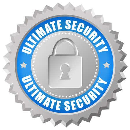 Ultimative Sicherheit Symbol