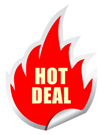 Hot deal vector sticker Vector