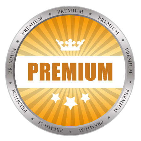 first class: Premium icon
