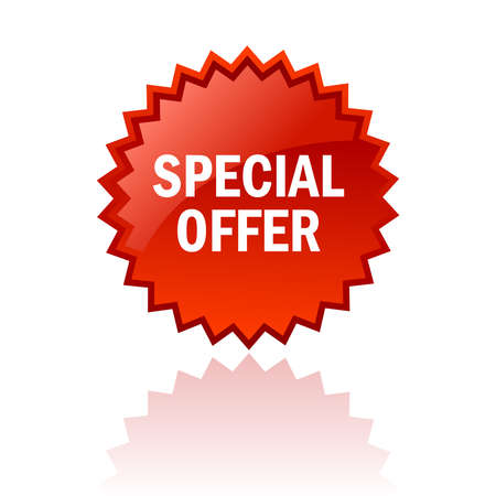 special offer icon Stock Vector - 14405402