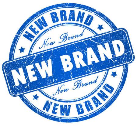 brand new: New brand stamp