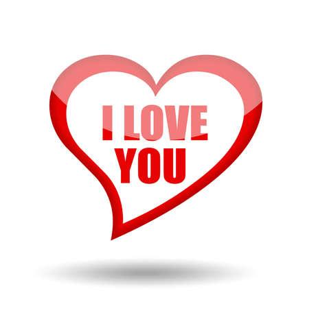 I love you symbol photo