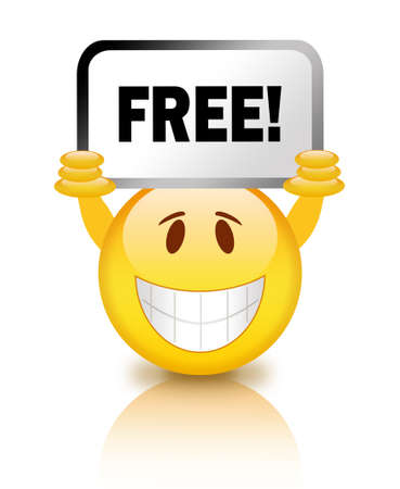 free backgrounds: Free smiley icon