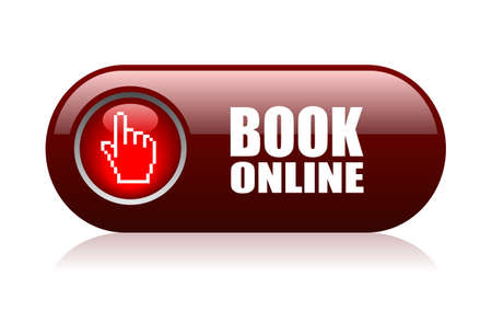 Book online vector illustration