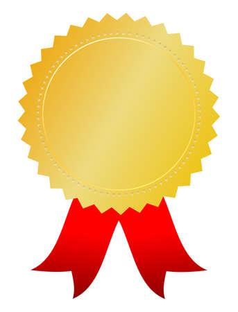 premios: Vector premio de oro Vectores