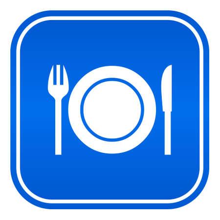 Restaurant vector sign Vector