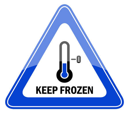 Vector keep frozen sign Stock Vector - 14837349