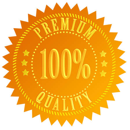 Premium quality gold certificate photo