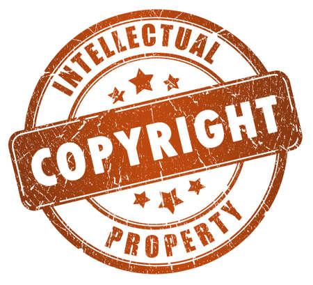 Copyright stamp 免版税图像