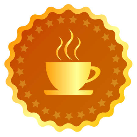 Coffee cup vector icon Stock Vector - 15503336