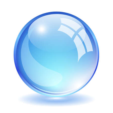 Vector glass ball Stock Vector - 15503347