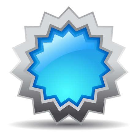 Blue star Stock Vector - 15286001